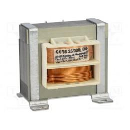 TS25/008 2x9V 2x1,35A transformator sieciowy