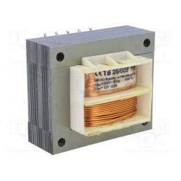 TS25/009 12V/2A transformator sieciowy