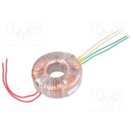 TST100/008 2x17V 2x2,94A transformator toroidalny