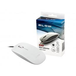 Mysz optyczna BLOW MP-30 USB biała / 84-031