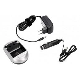 Ładowarka do akumulatorów LI-ION do kamer bez adaptorów / 5905354