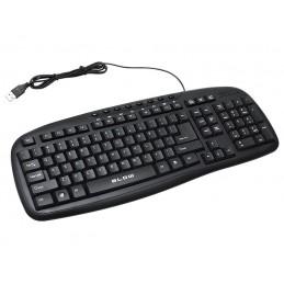 Klawiatura komputerowa BLOW KP-112 USB czarna / 84-204