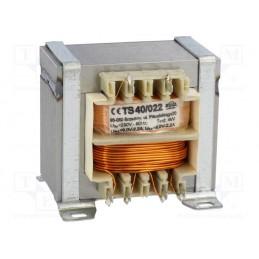 TS40/022 2x9V 2x2,2A transformator sieciowy