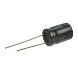 Kondensator 470uF/35V elektrolit 105st.c / 470/35V