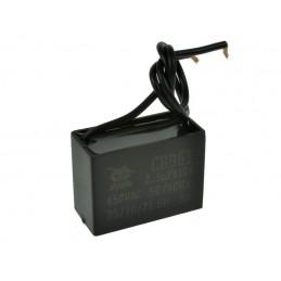Kondensator rozruchowy 2,5uF/450V AGD prostokątny