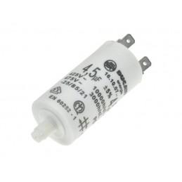 Kondensator rozruchowy 4u5F/450V AGD z konektorami