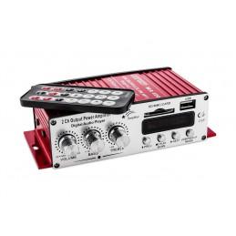 Wzmacniacz samochodowy + SD/USB Voice Craft / 120L-MA