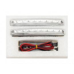 Światła do jazdy dziennej DRL 8 diód + automat