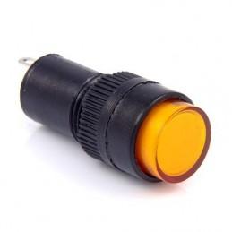 Kontrolka 12mm 12V żółta /...