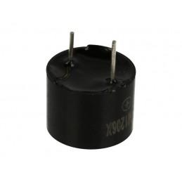 Buzzer HCM1206X 3-7V 30mA 85dB fi12mm