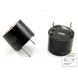 Buzzer HCM1212X 12V 9-15V 30mA 85dB fi12mm