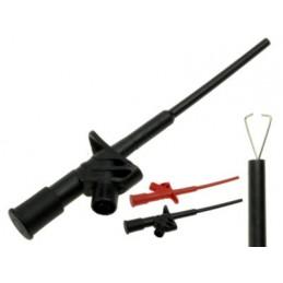 Chwytak pomiarowy 20.169.2 czarny 10A 4mm gn ban 155mm / KLEPS-2600