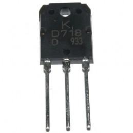Tranzystor 2SD718 npn 120V 8A 80W