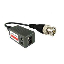 Konwerter BNC-skrętka pasywny na kablu