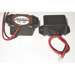 Buzzer FC208L 3V 2-5V 75dB 20mA prostokątny
