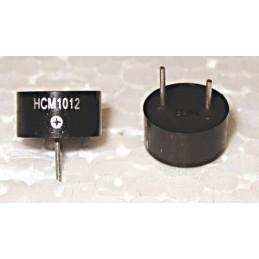 Buzzer HCM1012 12V 8-15V 30mA 80dB fi10mm