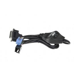 Złącze do zmieniarki cyfrowej Peiying PY-EM04 Audi, VW,Skoda 8-pin / PY-EM013