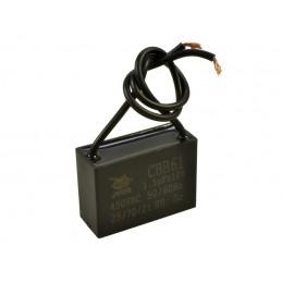 Kondensator rozruchowy 1,5uF/450V AGD prostokątny