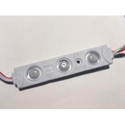 Moduł LED 3White 72x15x7mm 12V 0,72W zimny 7000K IP68 CITI LENS