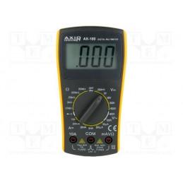 Miernik AX100 AXIOMET (U/I/R/F/buzzer) / AX-100