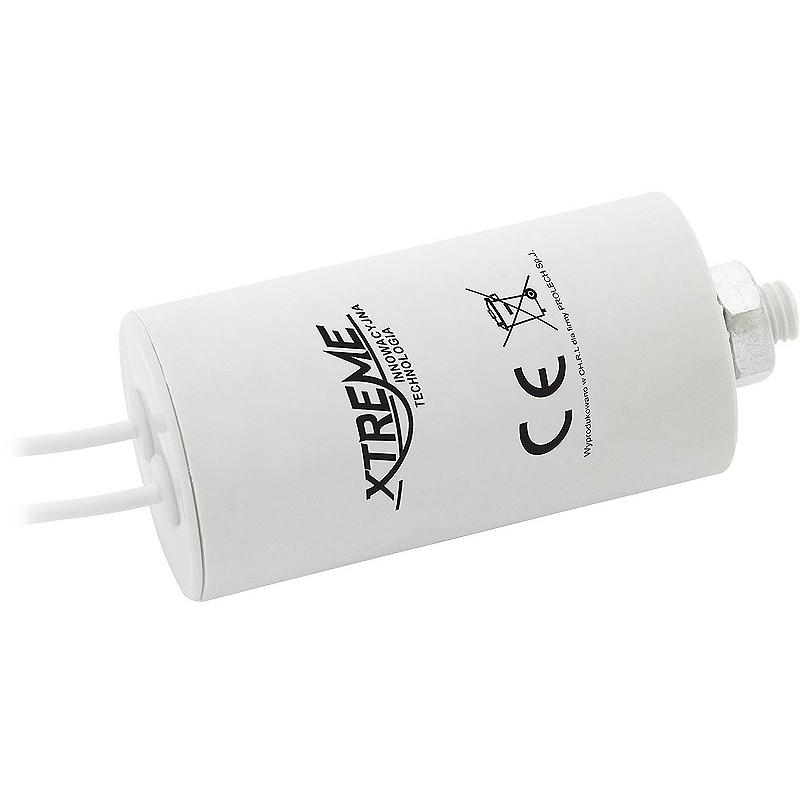 Kondensator rozruchowy 5uF/450V AGD z przewodami