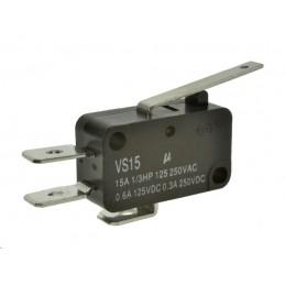 Mikroprzełącznik VS15N02-1C L-27.5mm 15A 250VAC NO+NC