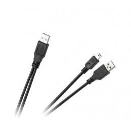 Złącze USB A-A-mini-USB 5-pin wt-wt 1,5m / KPO2861-1.5