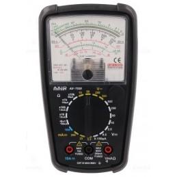 Miernik analogowy AX7020 AXIOMET (U/I/R/dB/diody/buzer) / AX-7020