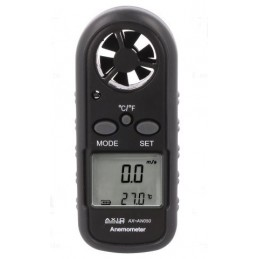 Tachometr z termometrem - Termoanemometr AXAN050 AXIOMET / AX-AN050