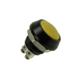 Przełącznik przycisk GQ12B-10-A-Y OFF-(ON) żółty