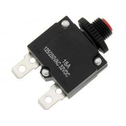 Wyłącznik nadprądowy 16A 250V MR1 bezpiecznik termobimetaliczny / 3954