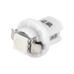 Żarówka LED B8,5d 1xSMD5050 w oprawce biała