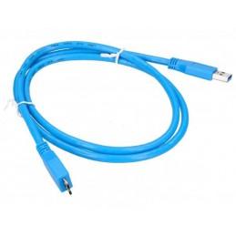 Złącze USB 3.0 A-micro-USB typ B wt-wt 1,0m