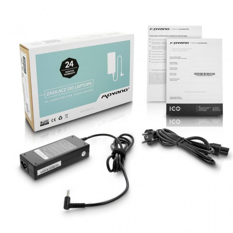 Zasilacz laptopa 19,5V/4,62A (3,0/4,5CP) do HP / ZZ/HP195462 Movano