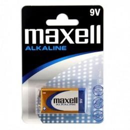 Bateria 9V 6LR61 MAXELL...