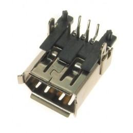 Gniazdo FIRE-WIRE IEEE 6-pin do druku przewlekane