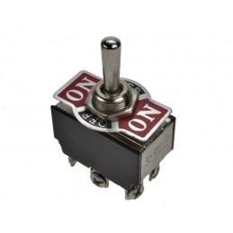 Przełącznik hebelkowy ON-OFF-ON 6-pin 3-poz (ŚR) KN3C-203