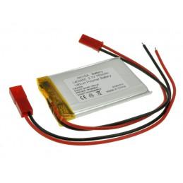 Akumulator 3,7V 550mAh 41x26x7mm z PCM