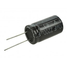 Kondensator 2200uF/63V elektrolit 105st.c 2200/63V