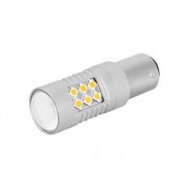 Żarówka LED P21W 24SMD 3030 1156 12/24V biała CANBUS