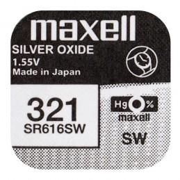 Bateria SR616 V321 SR65 321 MAXELL srebrowa 6,8x1,65mm