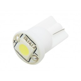 Żarówka LED R-10 12V biała 1xSMD 5050