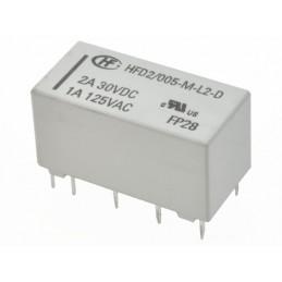 Przekażnik bistabilny 2-cewkowy HFD2-005-M-L2-D 5V 2A 2-styki przełączne