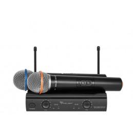 Mikrofon bezprzewodowy 2-kanały AZUSA UHF U3000