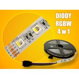 Taśma LED 12V RGBW+b.zimna Brolux 300/5050