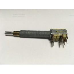Potencjometr 50k/B + switch L/R + switch naciskany ALPS