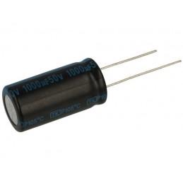 Kondensator 1000uF/50V elektrolit 105st.c 1000/50