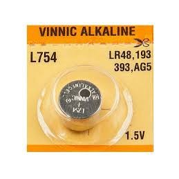 Bateria AG5/754 alkaliczna VINNIC