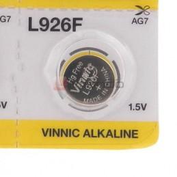 Bateria AG7/926/LR927 alkaliczna VINNIC