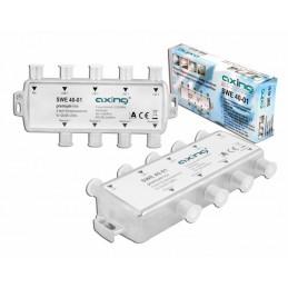 Multiswitch 5/4 mini Quad+TV SWE 40-01 AXING / Lx5128